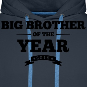 big brother of the year 2015 - Men's Premium Hoodie