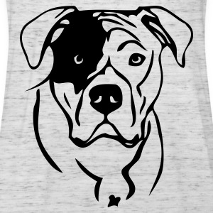 www.dog-power.nl  - Frauen Tank Top von Bella