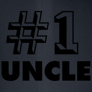 number one uncle - Flexfit Baseball Cap