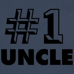 number one uncle - Men's Premium Longsleeve Shirt
