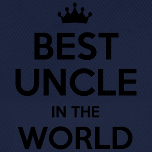 best uncle in the world - Baseball Cap