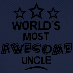 worlds most awesome uncle - Baseball Cap