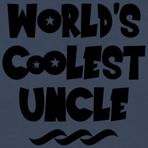 worlds coolest uncle - Men's Premium Longsleeve Shirt