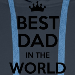 best dad in the world - Men's Premium Hoodie
