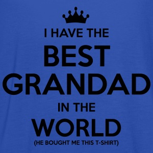 i have the best grandad in the world - Women's Tank Top by Bella