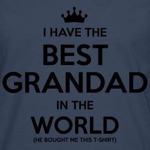 i have the best grandad in the world - Men's Premium Longsleeve Shirt