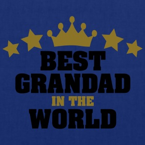 best grandad in the world stars - Tote Bag
