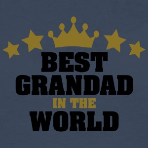 best grandad in the world stars - Men's Premium Longsleeve Shirt