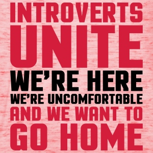 Introverts Unite  Felpe - Top da donna della marca Bella