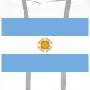 National Flag of Argentina Shirts - Men's Premium Hoodie