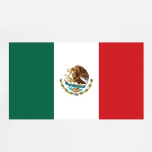 National Flag of Mexico Langærmede shirts - Herre premium T-shirt