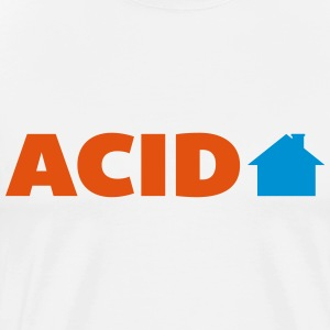 Acid House  Tops - Mannen Premium T-shirt