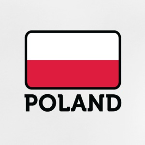 National Flag of Poland Skjorter - Baby-T-skjorte