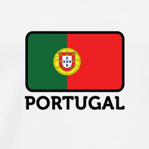 National flag of Portugal Long Sleeve Shirts - Men's Premium T-Shirt