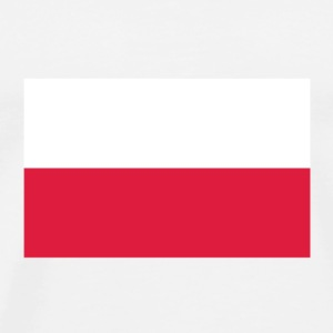 National Flag of Poland Mugs & Drinkware - Men's Premium T-Shirt