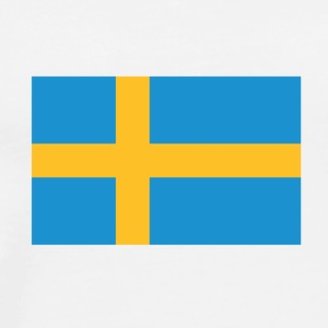 National flag of Sweden Tank Tops - Men's Premium T-Shirt