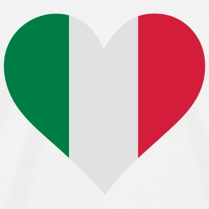 A Heart for Italy Accessories - Men's Premium T-Shirt