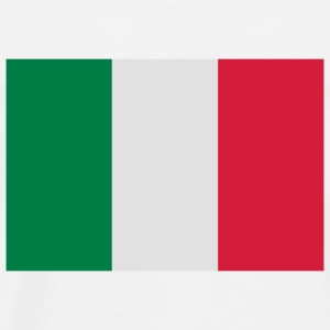 National flag of Italy Tops - Men's Premium T-Shirt