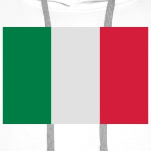 National flag of Italy Shirts - Men's Premium Hoodie