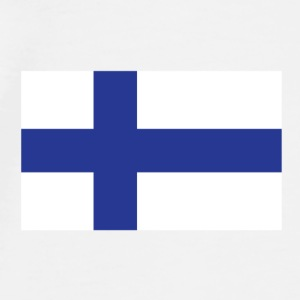 National Flag of Finland Accessories - Men's Premium T-Shirt