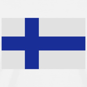 National Flag of Finland Long sleeve shirts - Men's Premium T-Shirt