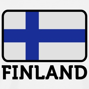 National Flag of Finland Hoodies & Sweatshirts - Men's Premium T-Shirt