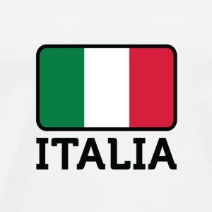 National flag of Italy Mugs & Drinkware - Men's Premium T-Shirt