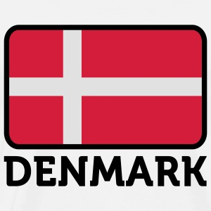 National flag of Denmark Tank Tops - Men's Premium T-Shirt