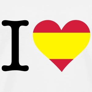 I love Spain Bags & Backpacks - Men's Premium T-Shirt