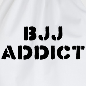brazilian jiu jitsu bjj addict 01 - Drawstring Bag