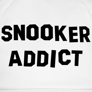 snooker addict 01 - Baseball Cap
