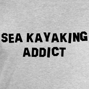 sea kayaking addict 01 - Men's Sweatshirt by Stanley & Stella