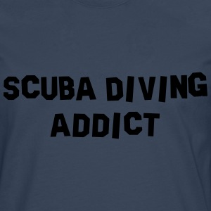 scuba diving addict 01 - Men's Premium Longsleeve Shirt