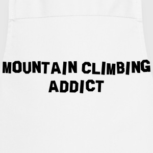mountain climbing addict 01 - Cooking Apron