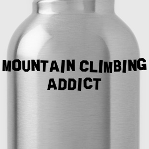 mountain climbing addict 01 - Water Bottle