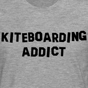 kiteboarding addict 01 - Men's Premium Longsleeve Shirt