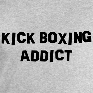 kick boxing addict 01 - Men's Sweatshirt by Stanley & Stella