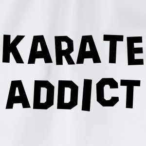 karate addict 01 - Drawstring Bag