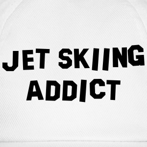 jet skiing addict 01 - Baseball Cap