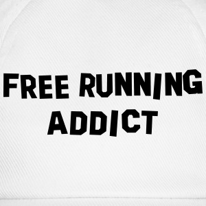 free running addict 01 - Baseball Cap