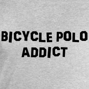 bicycle polo addict 01 - Men's Sweatshirt by Stanley & Stella