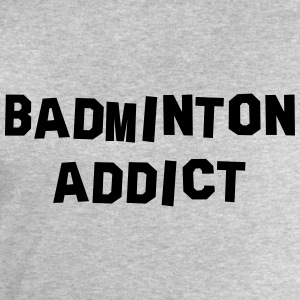 badminton addict 01 - Men's Sweatshirt by Stanley & Stella