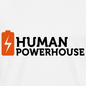 Human Powerhouse Bags & Backpacks - Men's Premium T-Shirt