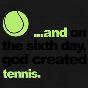 Sixth Day - Tennis - Men's Premium T-Shirt