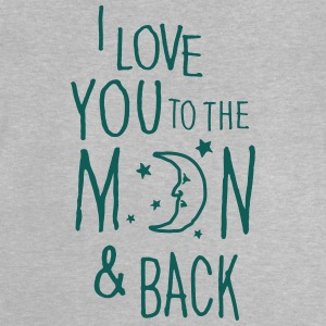I LOVE YOU TO THE MOON & BACK Shirts - Baby T-Shirt