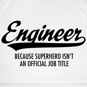 Engineer - Superhero Hoodies & Sweatshirts - Baseball Cap