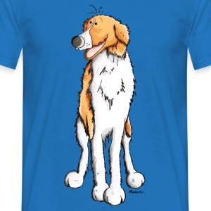 Happy Barzoi Hoodies & Sweatshirts - Men's T-Shirt