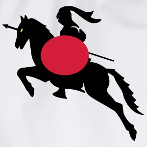 knight shield warrior Tee shirts - Sac de sport léger