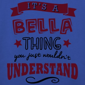 its a bella name forename thing - Kids' Premium Hoodie