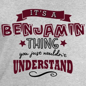 its a benjamin name forename thing - Men's Sweatshirt by Stanley & Stella